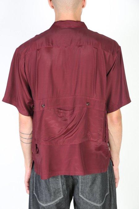 Tenbox Drug Dealer Shirt - Burgundy