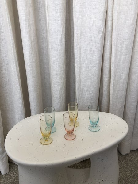 Pre-Loved Ri-Ri-Ku MULTI-COLORED SHOT GLASSES