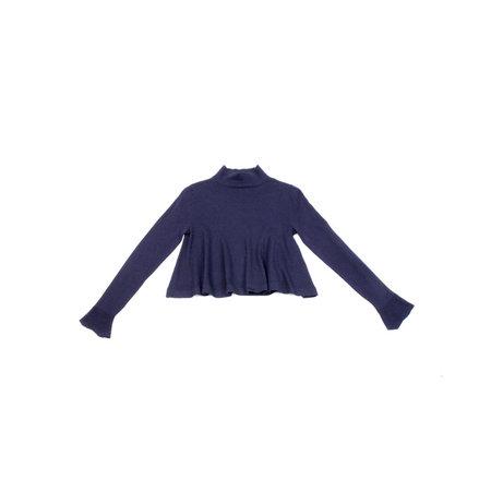 Apiece Apart La Fine Cotton Cashmere Mock