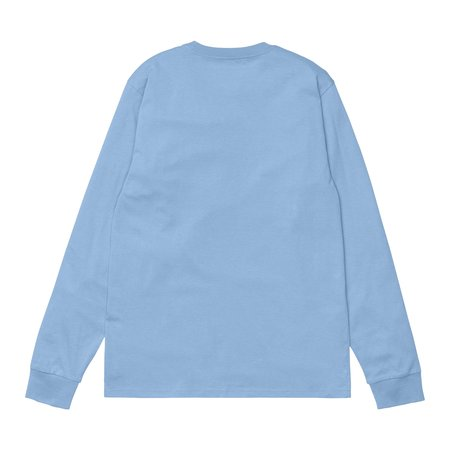 CARHARTT WIP L/S POCKET TEE - WAVE