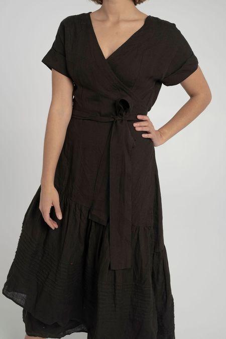 Apiece Apart Amaro Wrap Dress