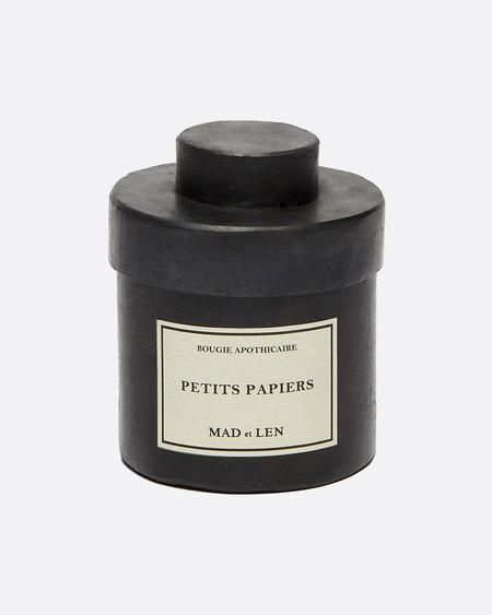 Mad et Len Candle - Petit Papiers