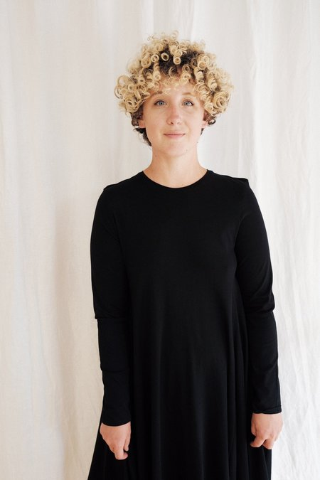Kowtow  Long Sleeve Dress - black