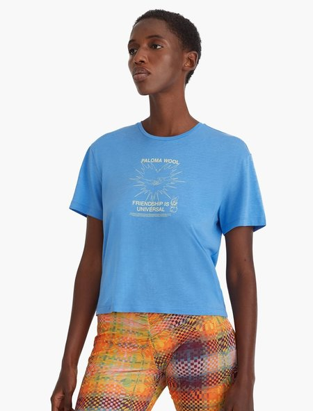 Paloma Wool Souvenir Corazon Tee - Blue