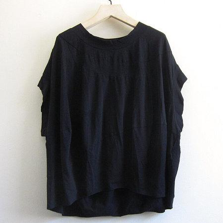 Rundholz Black Label pima cotton top - black