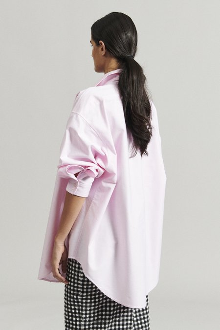 Rachel Comey Isa Shirt - Pink Oxford Shirting