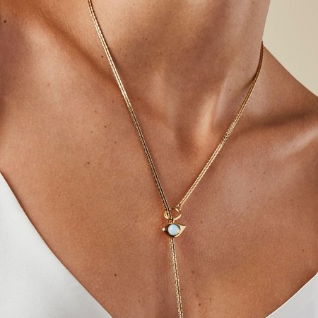 Jenny Bird 4-in-1 Veaux Necklace - 14K gold-dipped brass