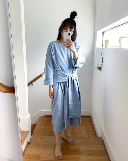APRIL MEETS OCTOBER April Dress - Sky Blue