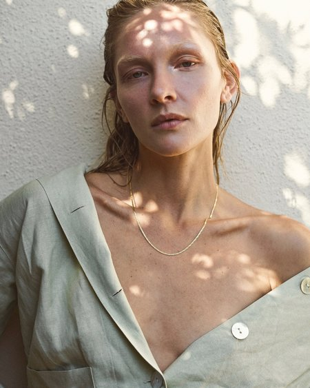 Mountainside Made Fortuna Necklace - Gold