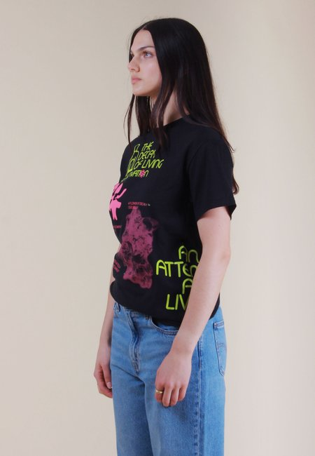 AN ATTEMPT AT LIVING Decay Of Living T-Shirt - black