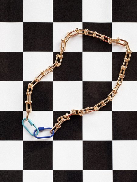 Gilbert Linked Necklace + Mask Chain