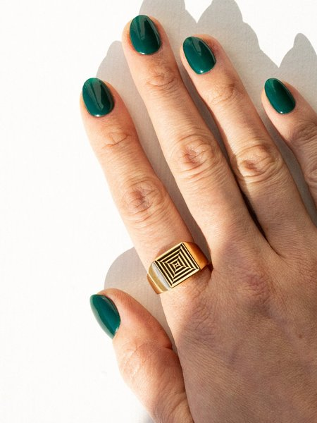 Gilbert Portal Ring - 14k Gold plated