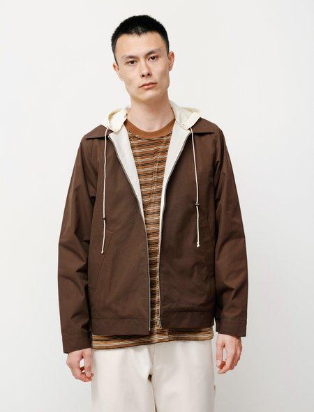 Camiel Fortgens Simple Hooded Jacket - Brown