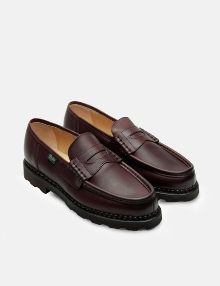 Paraboot Reims Smooth Leather Shoe - Brown
