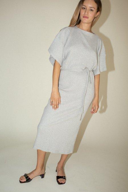 Baserange Clair Dress - Grey Melange