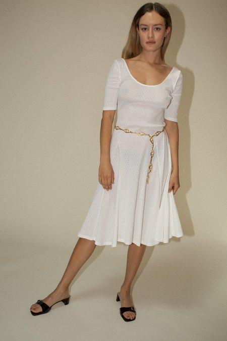 Maryam Nassir Zadeh Halcyon Dress - White