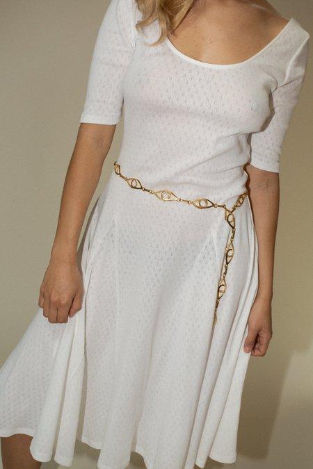 Maryam Nassir Zadeh Jacinto Belt - Gold