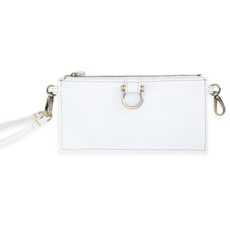 Sapahn Evelyn Wristlet Wallet - White