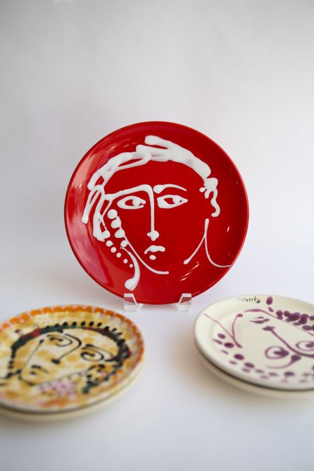 WOLF & GYPSY VINTAGE Fasano Face Dinner Plate 25CM