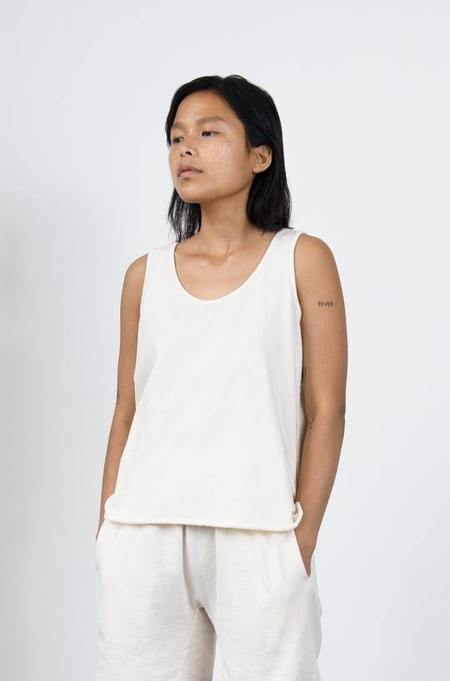 Wol Hide Easy Organic Cotton Tank - Natural