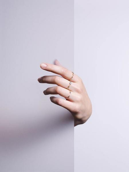 WWAKE Four step Ring - 14KT YELLOW GOLD