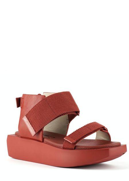 United Nude Wa Lo sandals - Terracotta