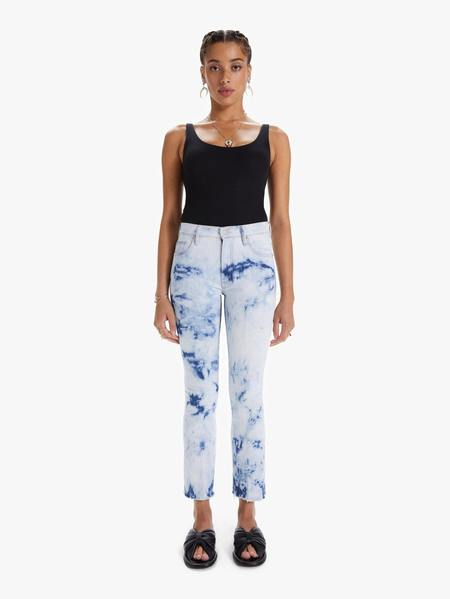 Mother Denim The Insider Ankle Fray Jeans - Tizzy