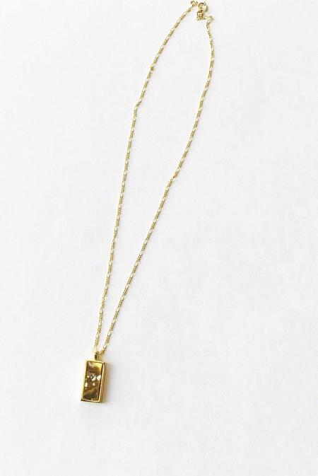 Sarah Safavi Jewelry Token Necklace - Wild Horse Magnesite