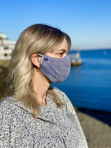 Dress Boston x Cece DuPraz Face Masks - Chambray