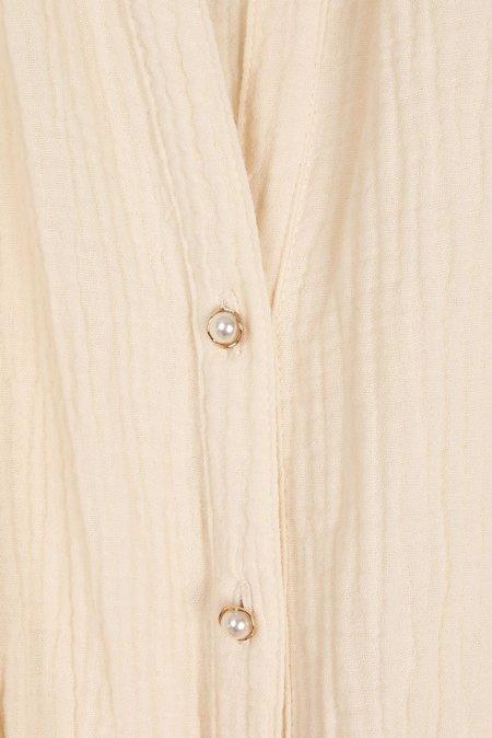 amannna Luna Dress - Marshmallow