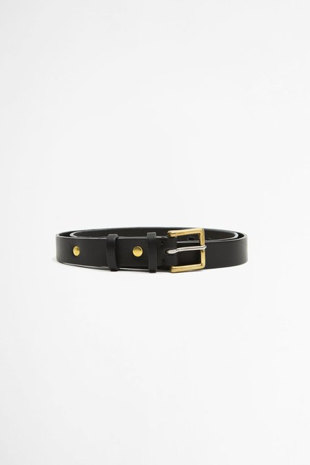 Del Barrio Cowhide Belt - Black