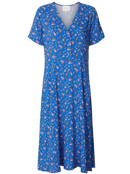 Lolly's Laundry Anja Tea Dress - Blue Flower