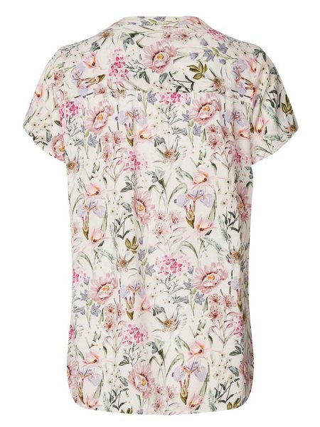 Lolly's Laundry Heather Floral Top - Pink Flower