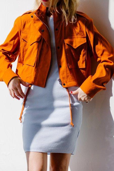 Rag & Bone Cropped Field M65 Jacket - Rust