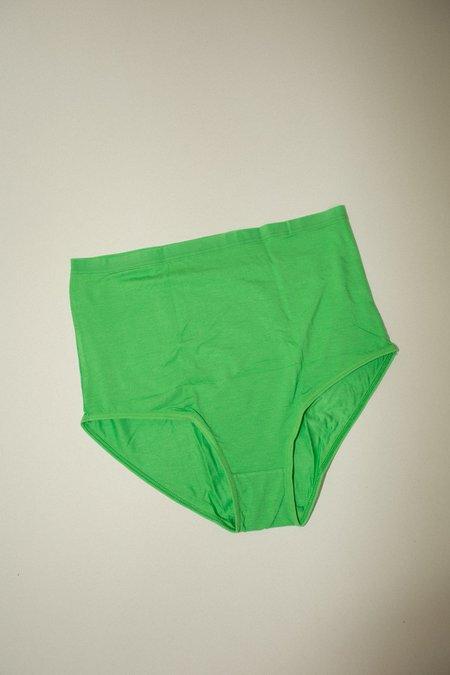 Baserange Highwaist Bell Pants - Ara Green