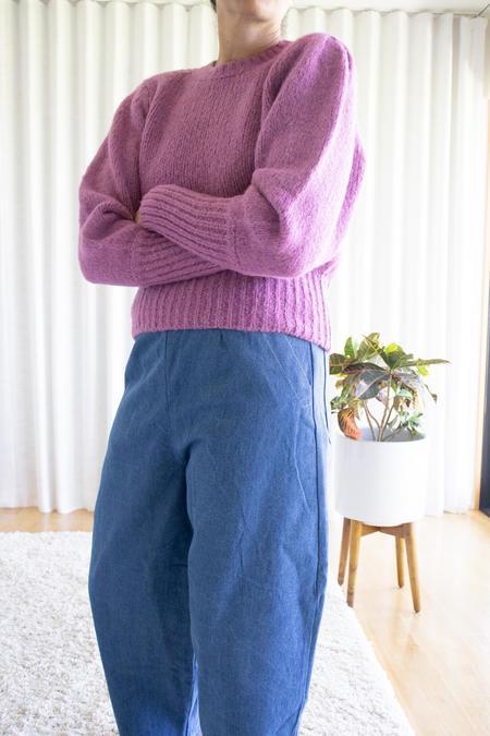 Les Coyotes de Paris Mindy Sweater - 80s Purple