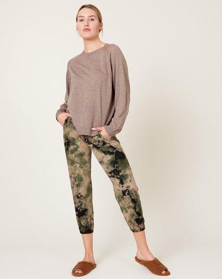 Raquel Allegra Tracker Pant - Army Calico Tie Dye