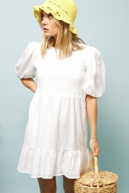 Faithfull The Brand Lorica Dress - White