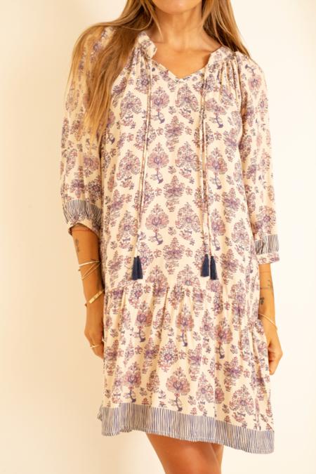 Natalie Martin Stevie Dress - Cyprus Print Lilca