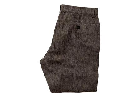 Taylor Stitch The Easy Linen Pant - Espresso