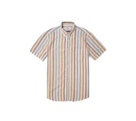 Portuguese Flannel Watercolor Short-Sleeve Shirt - Multi