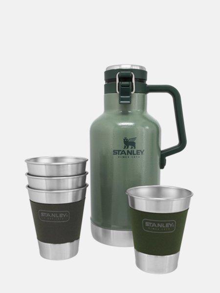 Stanley The Outdoor Growler Gift Set - Hammertone Green