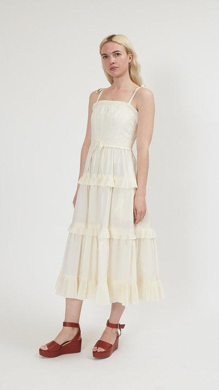 Ulla Johnson Lune Dress - Blanc