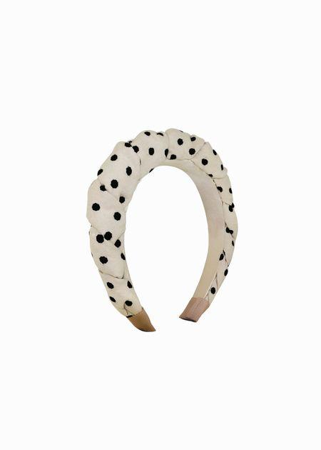 LEYT Statement Headband - Beige