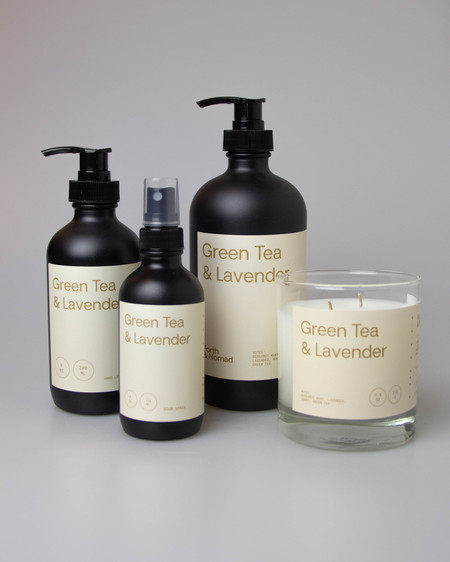 Forth & Nomad Green Tea & Lavender Bundle