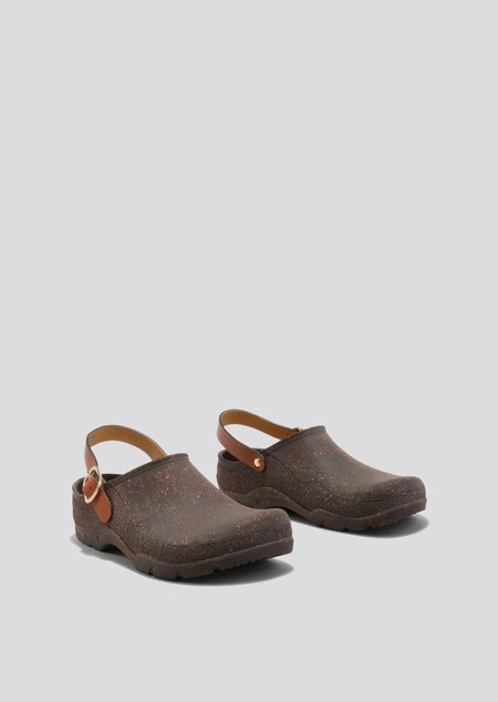 Rachel Comey Rosie Clog - Dark Brown