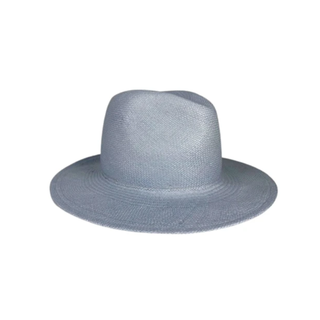 Hat Attack Panama Continental Hat - Pale Blue
