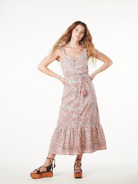 Cleobella Sophia Midi Dress - MARLED PRINT