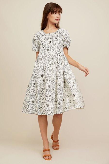 CHRISTY LYNN Audrey Dress - Etched Floral