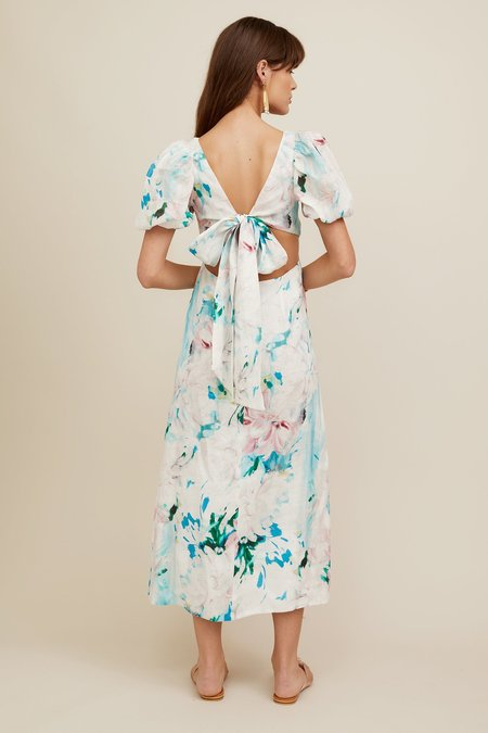CHRISTY LYNN Jacqueline Dress - Watercolor Floral